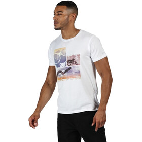 Regatta Cline IV Camiseta Hombre, white endless summer